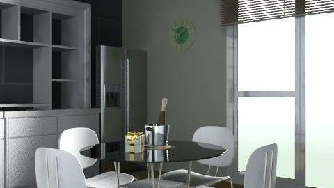 x - Minimal - Kitchen  - by MsScott