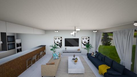 living room - Modern - by AVI1226