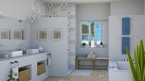 mediterraneo - Bathroom  - by Charipis home