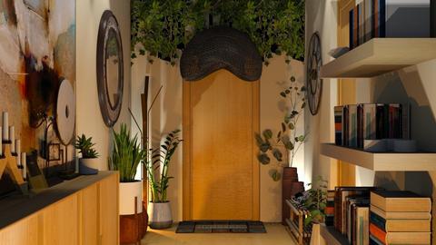 a warm and welcoming hallway - by nitya_avvari