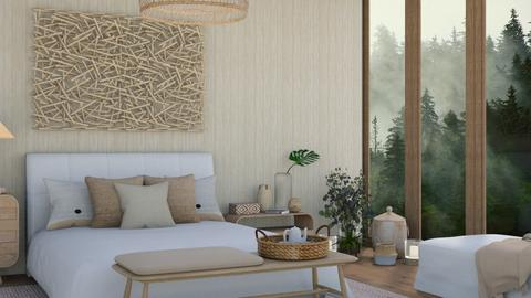 Natural Contest - Modern - Bedroom  - by martinabb