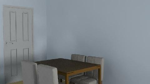 My Room - Dining Room  - by aureus30
