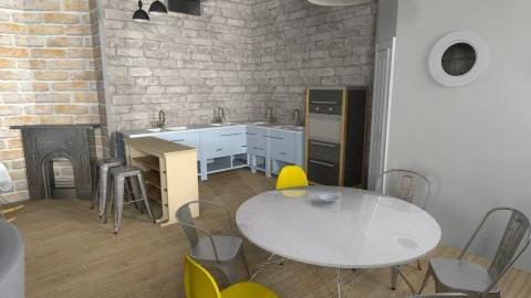 TESLINA 12 8910 - Retro - Kitchen  - by novax