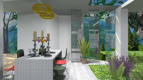 Outdoor Dining Space - Modern - Garden  - by 3rdfloor