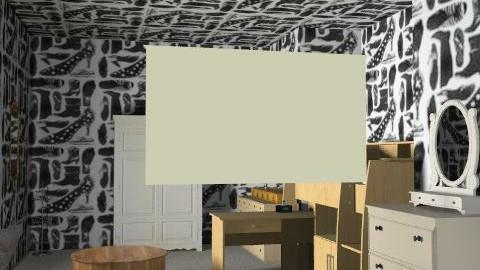 retro wood - Retro - Bedroom  - by lilylloyd