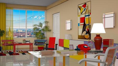 Bauhaus studyroom 01 - by nat mi