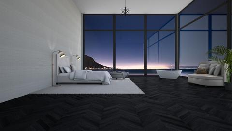 Night Sky bedroom - Bedroom  - by Ontwerpstudio34