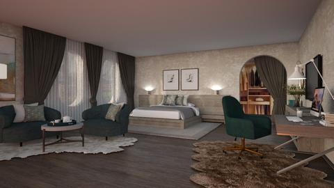 431 - Modern - Bedroom  - by Claudia Correia