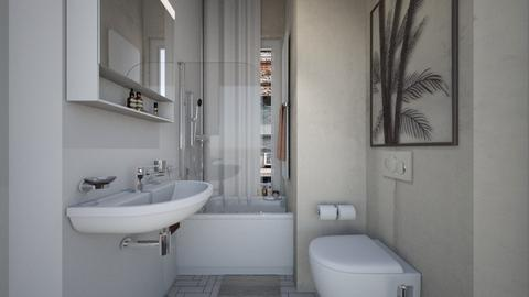 Casa396Bathroom - Modern - Bathroom - by nickynunes