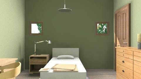 Most Boring Room Ever - Minimal - Bedroom  - by natural11