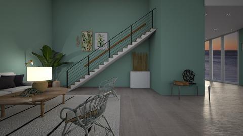 Luxury Living - Living room  - by MilksDaBunz