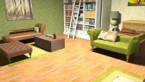 fvj - Rustic - Bedroom  - by mogly