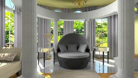 Round Luxury Bedroom - Eclectic - Bedroom  - by wiljun
