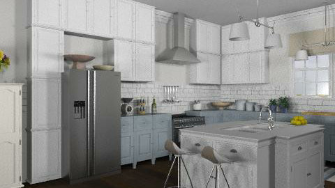 French Country Kitchen 2 - Classic - Kitchen  - by LizyD
