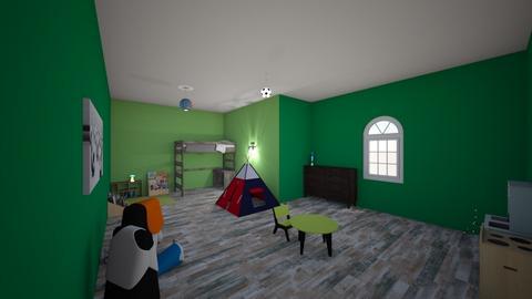 Davyns Room - Bedroom - by skye245_