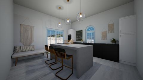 Stylish Kitchen - Modern - Kitchen  - by evabarrett