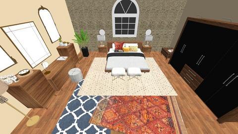 Moroccan inspired - Bedroom - by EllaNaznin