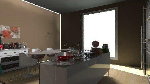 casa amplia - Kitchen - by fabiola pulidodelatoba