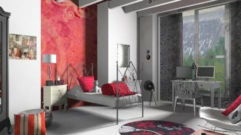 Mademoiselle - Eclectic - Bedroom  - by mrschicken
