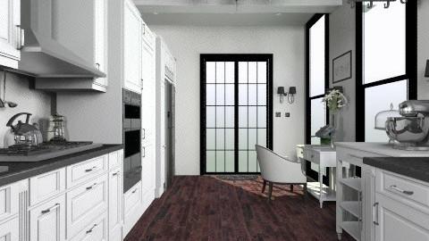 n - Eclectic - Kitchen  - by teodorstajkov