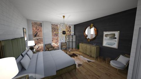 Template room - Bedroom - by bellavanderwal