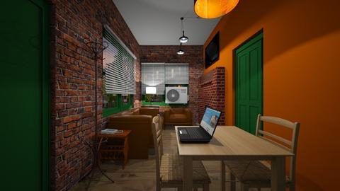 Micro Apartment 2 - Living room  - by SammyJPili