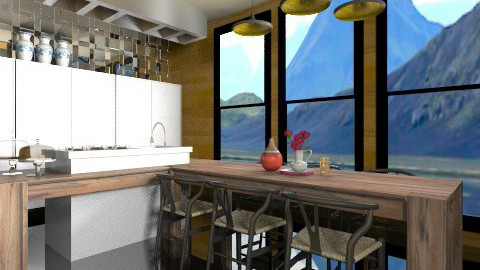 Portia Kitchen - Modern - Kitchen  - by 3rdfloor