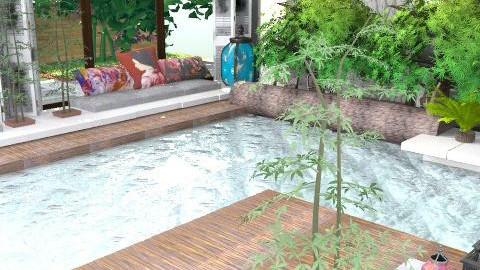 Atrium Concept - Classic - Garden  - by Nishimura Nicole