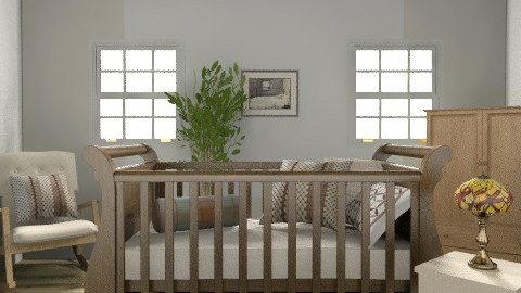 Unisex Baby Rustic Nursery - Rustic - Bedroom  - by coco_pps