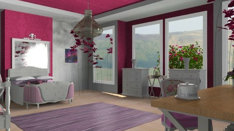 L Q - Country - Bedroom  - by mrschicken