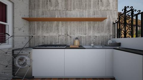 Dirty Kitchen - Kitchen  - by SammyJPili