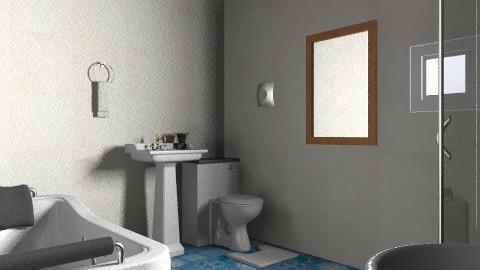 bathroom - Rustic - Bathroom  - by fhrea