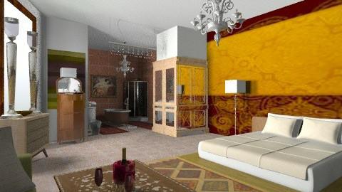 Faraway - Eclectic - Bedroom  - by mrschicken