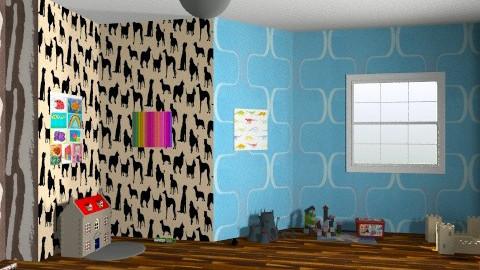 Playroom - Retro - by kyla_cantillano
