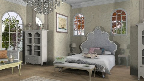 Vive la France - Classic - Bedroom  - by auntiehelen