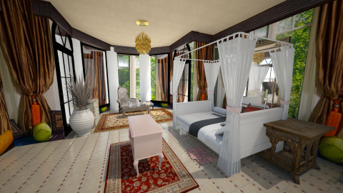 the mughal resort - Classic - Bedroom  - by faar70