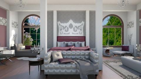 modern queen room - Modern - by miadesign