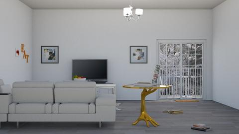 City Apartment - Modern - Living room  - by DerpyMoggins
