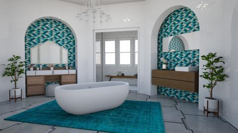 Glamour Bathroom - Glamour - Bathroom  - by laurenpoisner