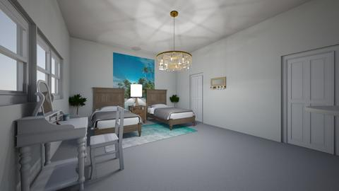 Beachy Vibe Bedroom - Vintage - Bedroom  - by Tani The Photo Phenetic