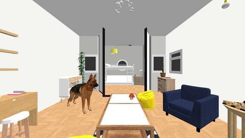 Rustic den - Rustic - by QueenB4