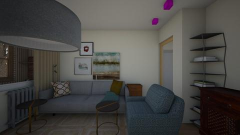01August - Living room  - by Julia Nick