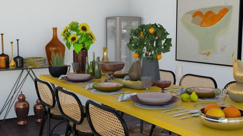 Plenty - Dining room  - by Laurika