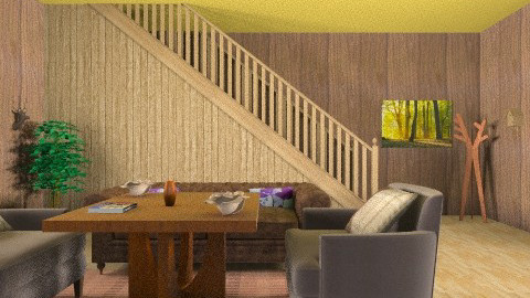 loby - Vintage - Living room  - by Liberty Interior