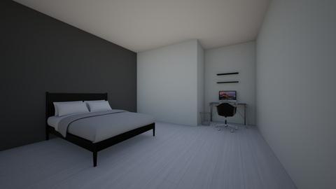 Scandi bedroom - Bedroom - by jesskevans01