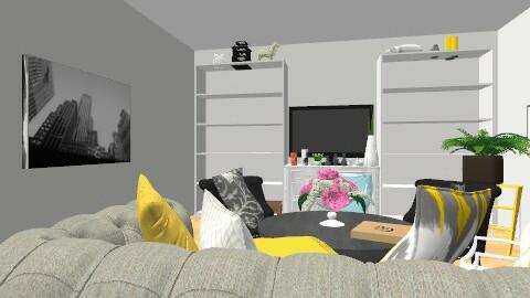 Studio - Glamour - Living room  - by leravissant