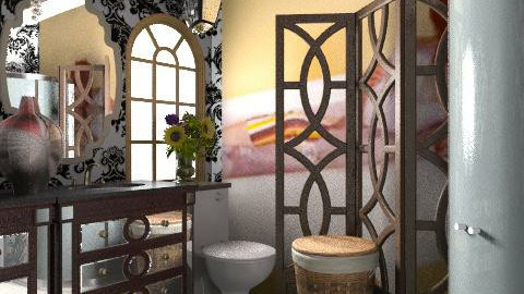too much relaxation - Vintage - Bathroom  - by whatsmyname