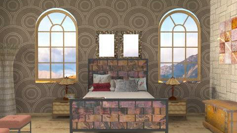 For Two - Classic - Bedroom  - by Ariadne491