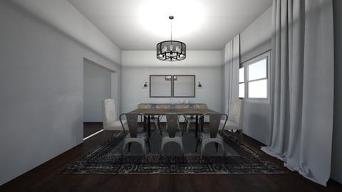Epley Dining Room 2 - Dining room  - by Marcellejenay