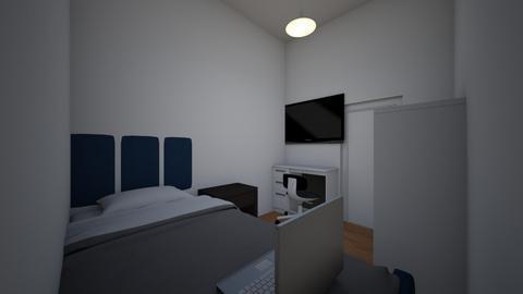 mi pieza - Modern - Bedroom - by Uriel0